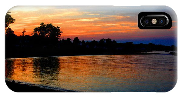 Sunset At Colonial Beach Cove IPhone Case