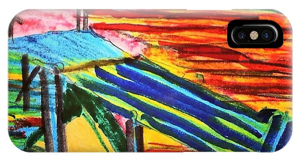 iPhone Case - Sunset At Dock by Love Art Wonders By God