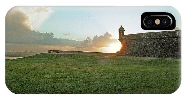 Sunset At El Morro IPhone Case