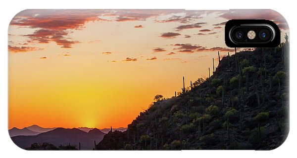 Sunset At Gate's Pass IPhone Case
