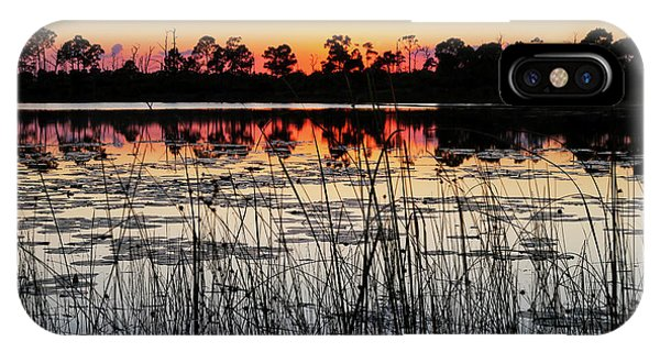 Sunset At Gator Hole IPhone Case