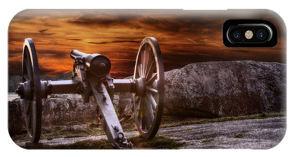 Sunset At Gettysburg IPhone Case