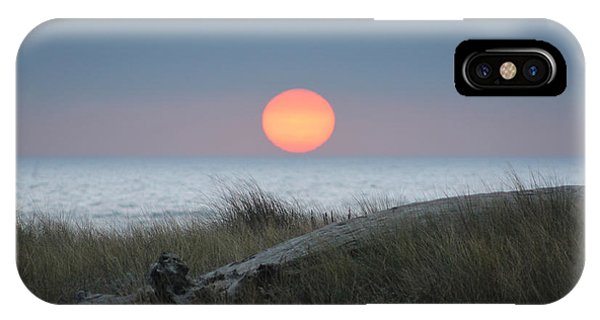 Sunset At Halfmoon Bay IPhone Case