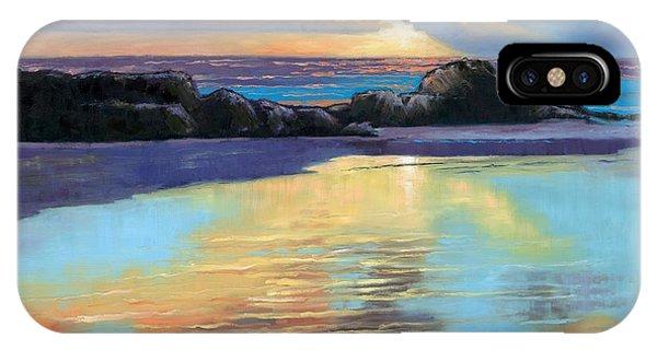 Sunset At Havika Beach IPhone Case