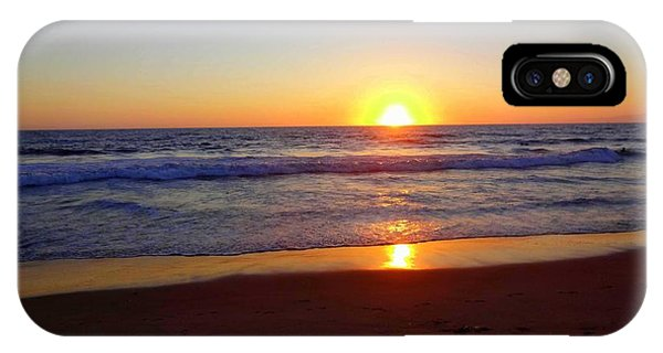 Sunset At Hermosa IPhone Case