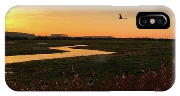 Sky iPhone Case - Sunset At Holkham Today  #landscape by John Edwards
