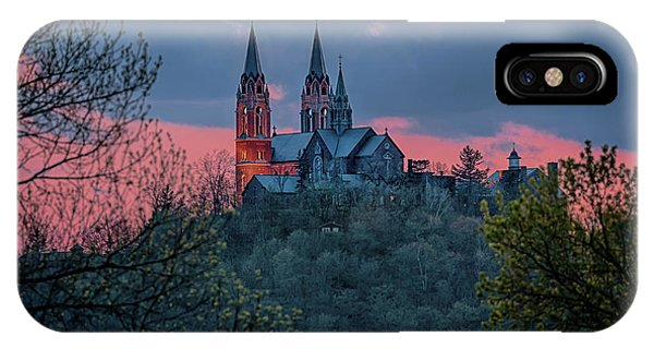 Sunset At Holy Hill IPhone Case