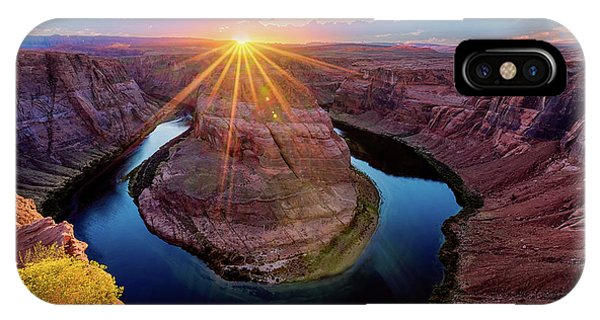 Sunset At Horseshoe Bend IPhone Case
