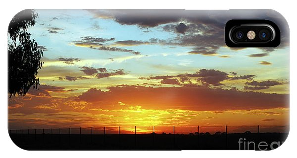 Sunset At Little River Victoria IPhone Case