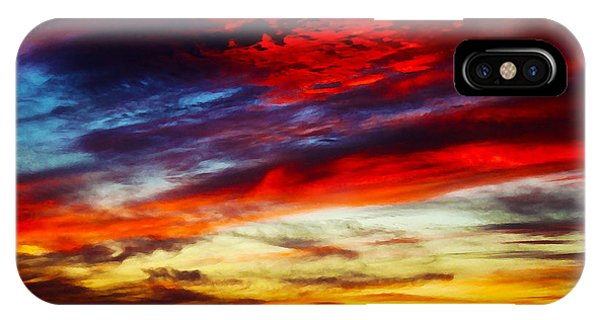 Sunset At Louie's IPhone Case