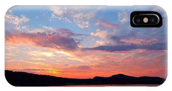 Sunset At Ministers Island IPhone Case