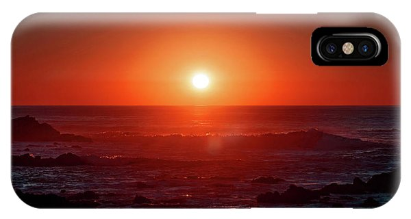 Sunset At Monterey IPhone Case