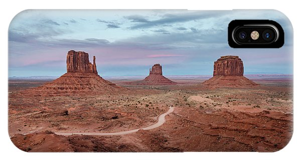 Sunset At Monument Valley No.1 IPhone Case
