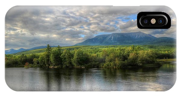 Sunset At Mt. Katahdin IPhone Case
