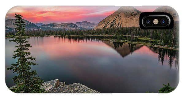 Sunset At Notch Lake IPhone Case