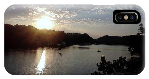 Sunset At Occoquan IPhone Case