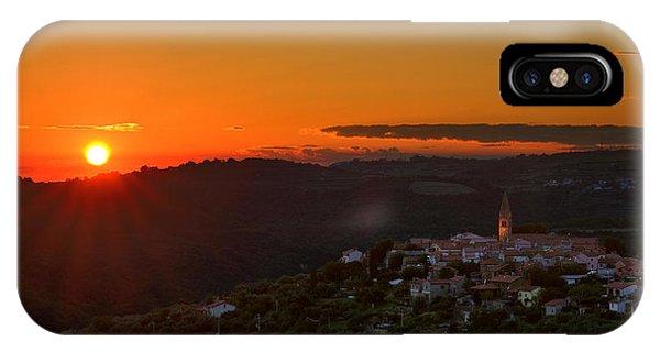 Sunset At Padna IPhone Case