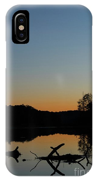 Sunset At Paulinskill Lake IPhone Case