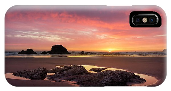 Sunset At Ruby Beach IPhone Case