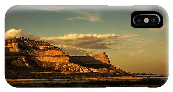 Sunset At Scotts Bluff National Monument IPhone Case