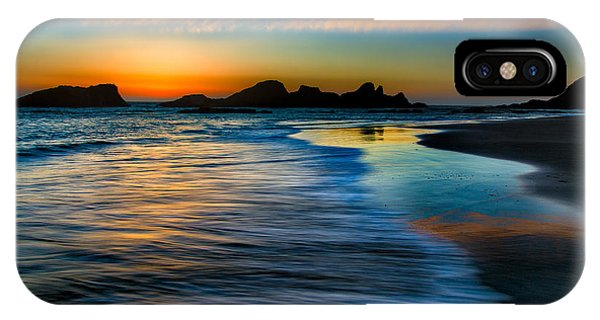 Sunset At Seal Rock Oregon IPhone Case