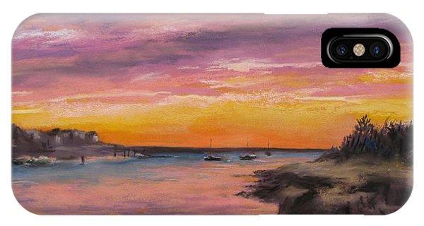 Sunset At Sesuit Harbor IPhone Case