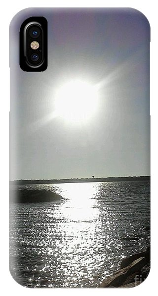 Sunset At Solomons Island Md IPhone Case