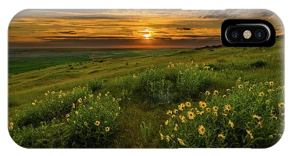 Sunset At Steptoe Butte IPhone Case