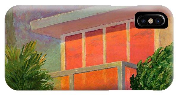 Laguna Beach iPhone Case - Sunset At The Beach House by Karyn Robinson