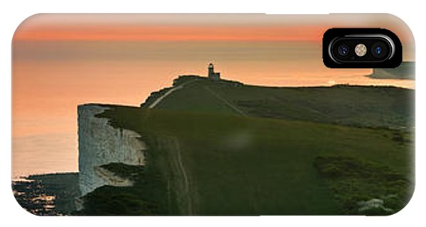 Sunset At The Belle Tout Lighthouse IPhone Case