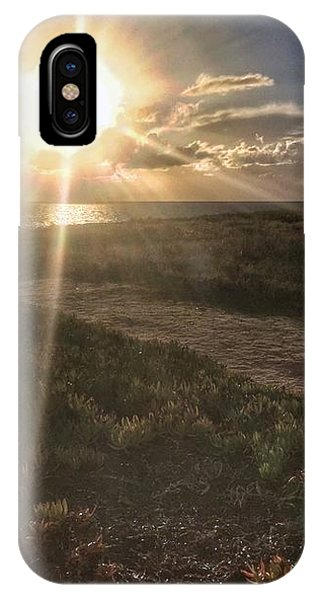 IPhone Case featuring the photograph Sunset At The Cliffs by Dirk Jung