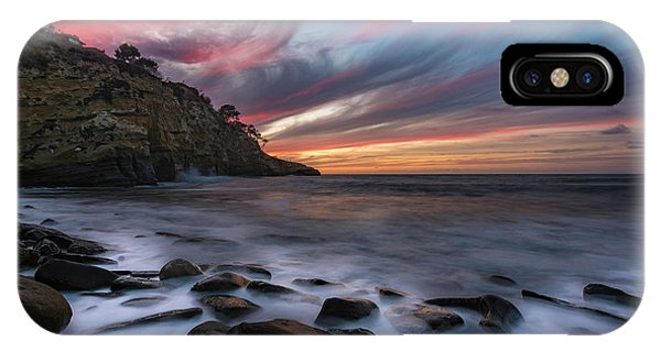 Sunset At The Cove IPhone Case