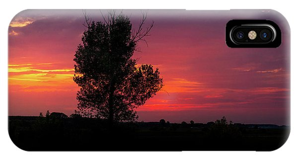 Sunset At The Danube Banks IPhone Case