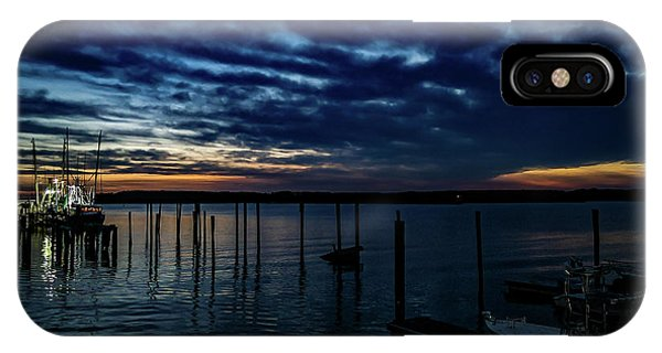 Sunset At The Dock IPhone Case