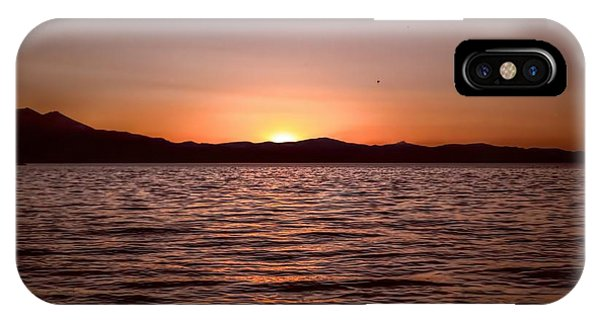 Sunset At The Lake 2 IPhone Case