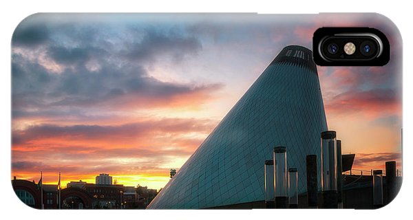 Sunset At The Museum Of Glass IPhone Case