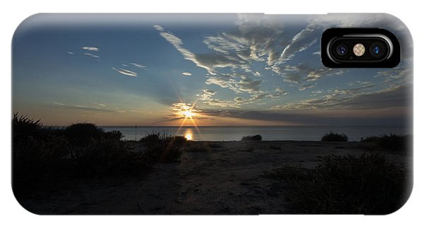 Sunset At Torrey Pines IPhone Case