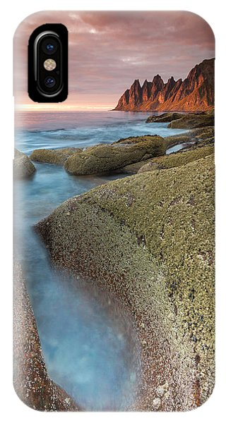 Sunset At Tungeneset IPhone Case