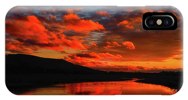 Sunset At Wallkill River National Wildlife Refuge IPhone Case