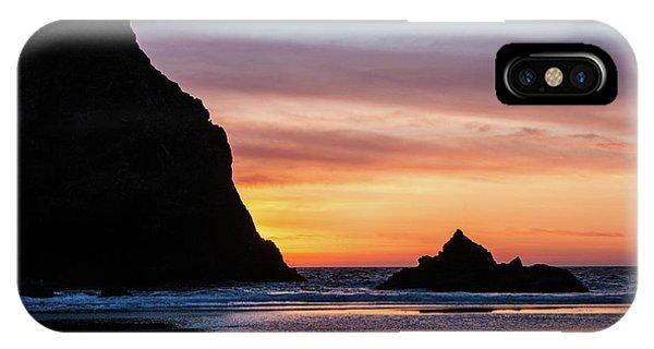 Sunset At Whalehead Beach IPhone Case