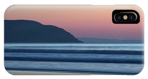 Sunset At Woolacombe IPhone Case