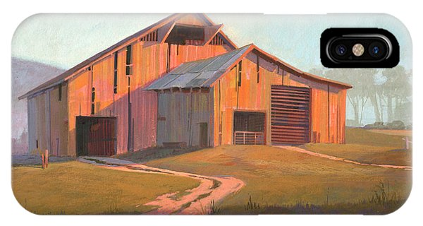 Simple iPhone Case - Sunset Barn by Michael Humphries