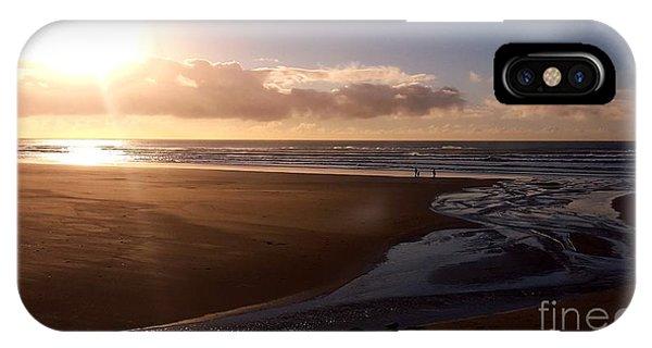 Sunset - Bastendorff Beach IPhone Case