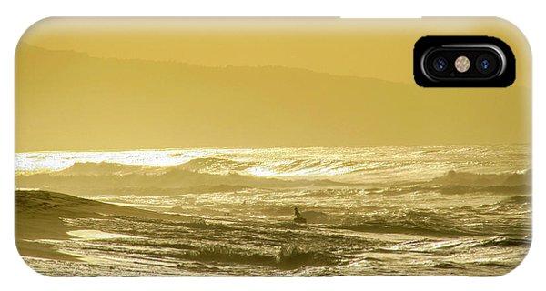 Sunset Beach Aglow  IPhone Case