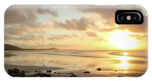 Sunset Beach Delight IPhone Case