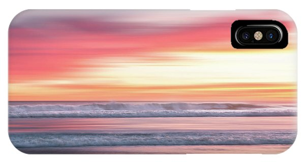 Sunset Blur - Pink IPhone Case