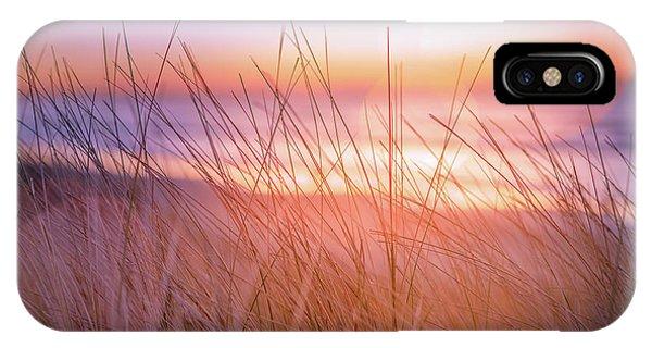 Sunset Bokeh Phone Case by Inger Vaa Eriksen
