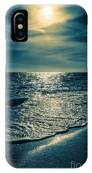 Condo iPhone Case - Sunset Bowman Beach Sanibel Florida by Edward Fielding