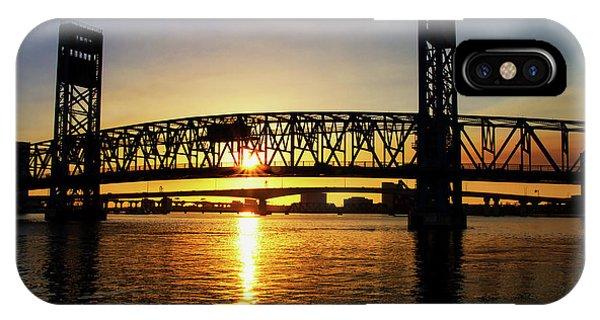 Sunset Bridge 1 IPhone Case