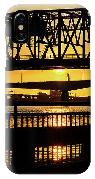 Sunset Bridge 2 IPhone Case